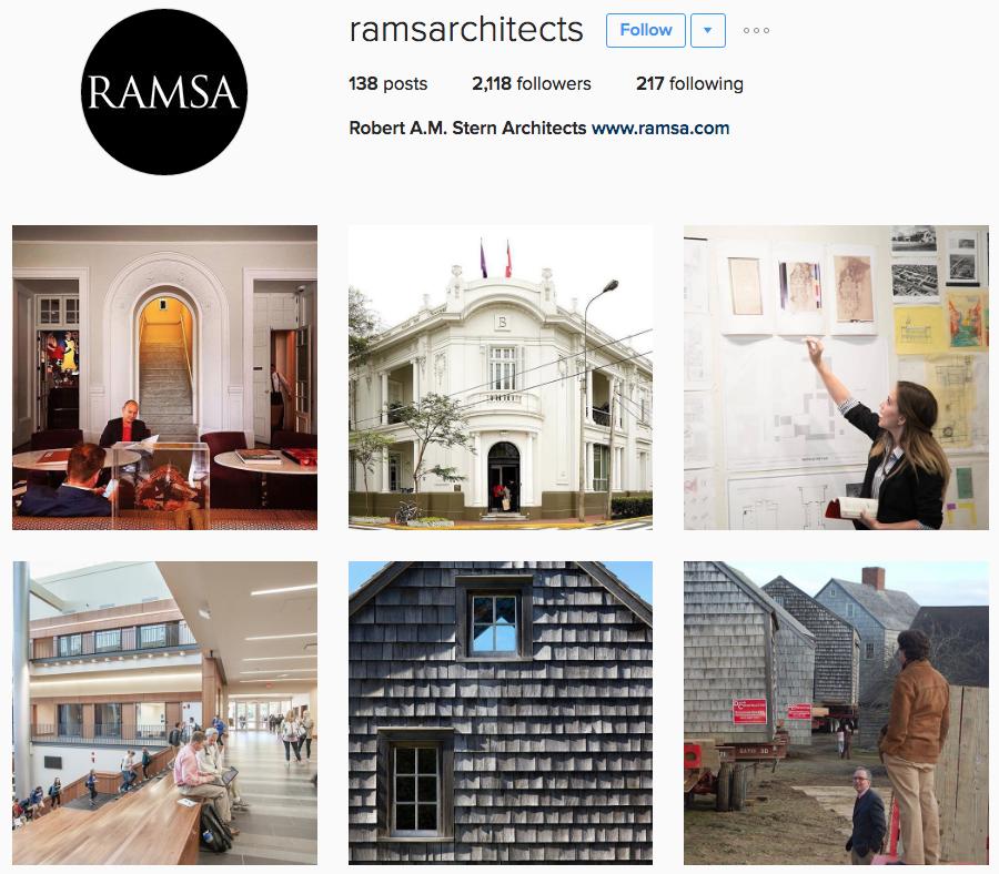 architect on instagram