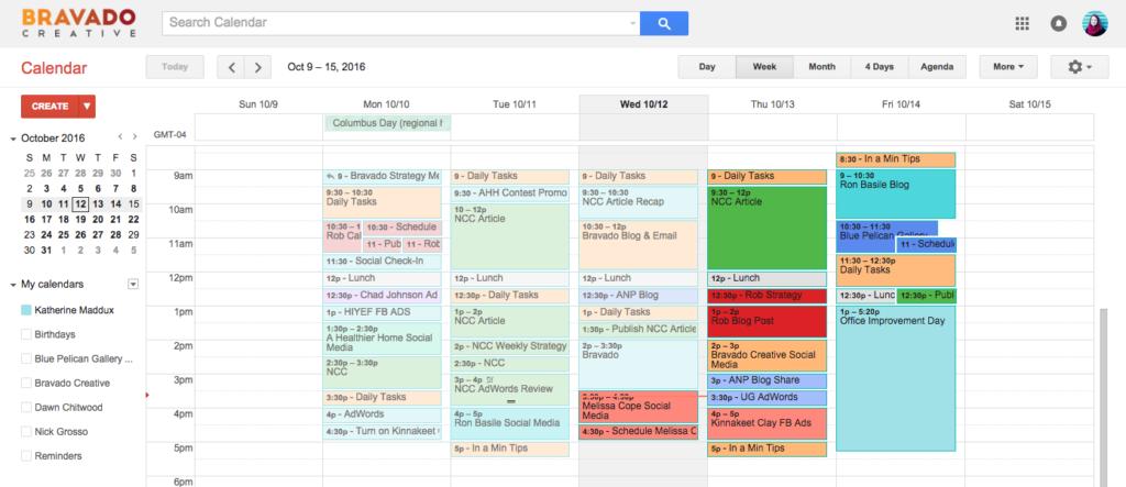 google calendar tool